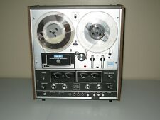 Vintage Akai 1800-SS Reel to Reel With 8-Track Tape Player Circa 1970's