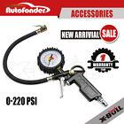 220PSI Tire/Tyre Inflator Auto Car Vehicle Air Compressor Pressure Gauge Gun