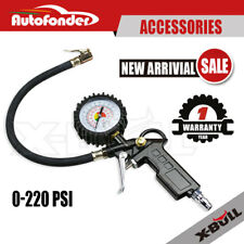 220PSI Tire/Tyre Inflator Auto Car Vehicle Air Compressor Pressure Gauge Gun
