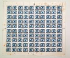 Iraq 1941-42 MNH Full Sheet Sc#88 15f CV210$ tropical marks see description