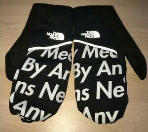 FW15 Supreme x THE NORTH FACE By Any Means Necessary Winter Runners BAMN Gloves