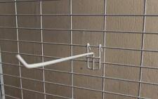 """10 x panel de visualización de malla Gridwall Ganchos 11"""" - 28cm"""