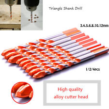 Multifunctional Alloy Drill Bits Set for Wall Ceramic Tile Glass Punching Hole~~
