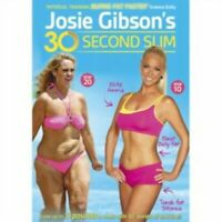 Josie Gibson's 30 Second Slim DVD Keep Fit Weight Loss Gift Idea Size 20 to 10
