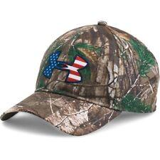 New Under Armour Men Realtree Ap-Xtra Camo Big Logo 2.0 Cap Adjustable Hat OSFA