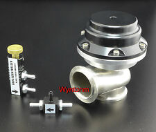 44MM External Wastegate 14-25 PSI Turbo Stainless Steel Valve + MBC Black II