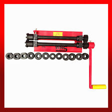 """WNS Bead Roller Rolling Machine Swager Bead Former 305mm 12"""" 1.2mm* 7 Sets Rolls"""