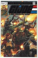 GI JOE A REAL AMERICAN HERO #1 | IDW Silver Foil Anniversary Edition | 2018 | NM