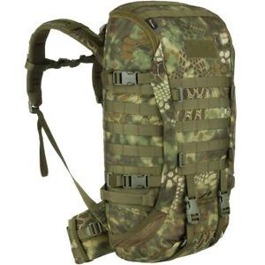 Wisport ZipperFox 40L Rucksack US Army Patrol Hydratation Kryptek Mandrake Camo