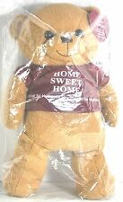 "NEW HABITATE FOR HUMANITY LIMITED ED ""SAWYER"" HOME SWEET HOME PLUSH TEDDY BEAR"