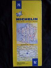 Carte Michelin N° 55 Caen Paris 1980