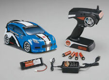 Vehículos de modelismo de radiocontrol eléctricos azules de escala 1:18