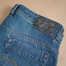 Diesel Safado Jeans Blue Straight Button Vintage Men's (LabelW31L32) W 34 L 34