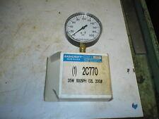 "ASHCROFT 355-08 - 35W 1005PH 02L  0-200 PSI GAGE, 3-1/2"" NEW"