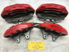 12 MERCEDES AMG CLS63 CLS W218 COMPLETE OEM BREMBO FRONT REAR BRAKE CALIPERS