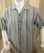 Tommy Bahama Mens Silk Camp Shirt Size Medium Short Sleeves