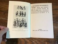 A Hundred Wonderful Years 1820-1920 Social and Domestic Life Fashion C. S. PEEL
