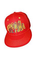 ESPANA SPAIN RED COUNTRY FLAG HIP HOP HAT CAP .. NEW 5e755738e83