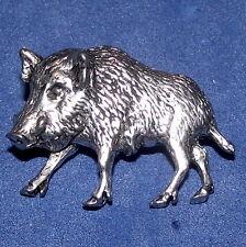 Nouveau Étain Sanglier Cochon Chasse Tir Broche