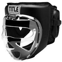 Title Boxing Faceshield No-Contact Training Headgear - Black