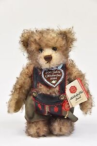 Hermann Teddy Octoberfest Bear 2010 200 Year Anniversary Limited 55 of 100 A26