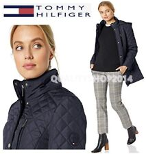 Tommy Hilfiger Womens Hooded Jacket, navy color MSRP: $...