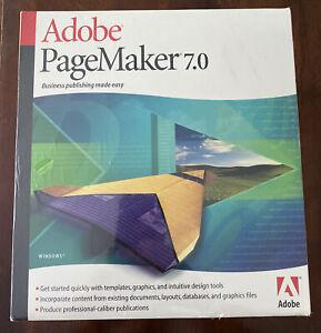 Adobe PageMaker 7.0 for Windows PN: 27530341 - Brand New / Sealed