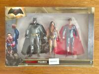 Batman v Superman Dawn of Justice 3 figure Pack Bendable Wonder Woman DC Comics