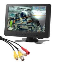 """7"""" Inch 1024x600 TFT LCD Color Monitor 16:9 BNC AV For PC Security CCTV DVD"""