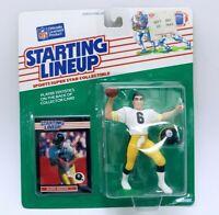 VINTAGE SEALED 1989 Starting Lineup SLU Figure Bubby Brister Steelers
