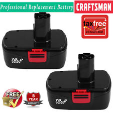2PCS of Craftsman DieHard C3 19.2Volt NiCd Battery Replacement Craftsman 11375