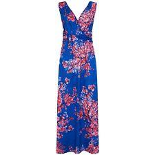 HotSquash Cherry Print V-Neck Maxi Dress - Size 14