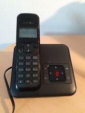 T-Com Telekom Sinus C33 Telefon + Anrufbeantworter Basisstation DECT