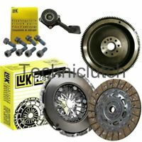 FLYWHEEL, LUK CLUTCH KIT, CSC, BOLTS FOR FORD FOCUS C-MAX MPV 2.0 TDCI