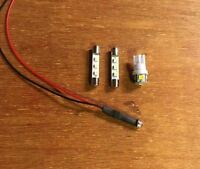 LED LAMP KIT  KR-4070 RECEIVER(8v WARM WHITE )DIAL METER/VINTAGE/KR-4770 Kenwood