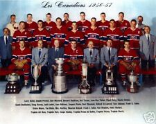 Montreal Canadiens 1956-57 Championship Team Photo