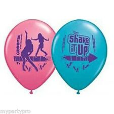 DISNEY'S SHAKE IT UP BIRTHDAY PARTY supplies (LATEX BALLOONS) FREE SHIPPING