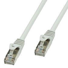 15m CAT5e LAN Kabel, (RJ45) SF/UTP, doppelt geschirmtes Patch cable grau CP1102D