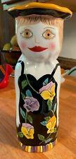"Bella Casa By Ganz - Susan Paley - Ceramic Vase - ""Sophie"" - 10 1/4"" Retired"