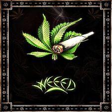 """*Weed Cannabis Marijuana Pot in/outdoor Vinyl Bumper Sticker Decal 2.5"""" Hippie"""