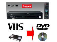 Panasonic DMR-EZ48V  DVD RECORDER/VHS VIDEO RECORDER COMBI-VHS-DVD,FREEVIEW,HDMI