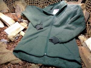 Helly Hansen Faserpelzjacke Kälteschutzjacke NL Armee Medium gebraucht