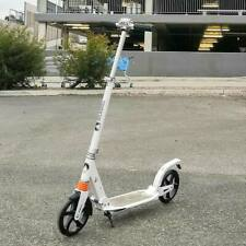 Folding Push Scooter Dual Supension 200mm Big Wheels Adult Commuter Child Gift