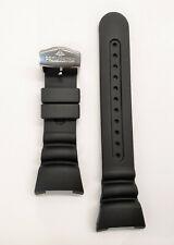 Original Citizen Aqualand U106-T007996, JV0000-28E Black Rubber Watch Band Strap
