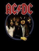 AC/DC cd cvr HIGHWAY TO HELL CIRCLE Official SHIRT XXL 2X new