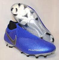 Nike Phantom VSN Elite DF FG Soccer Cleats Racer Blue AO3262-400 Men's Size 8