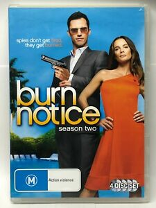 Burn Notice - Complete Two Three - 4 DVD Set - AusPost with Tracking