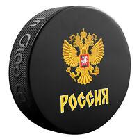 2016 World Cup of Hockey Team Russia Logo Souvenir Hockey Puck