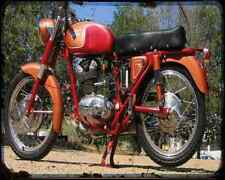 Ducati 175 Ts A4 Photo Print Motorbike Vintage Aged