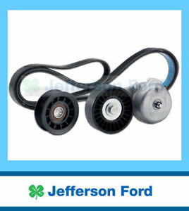 Genuine Ford Ba Falcon 6Cyl Drive Belt, Tensioner Idler Pulley Kit